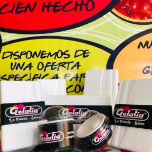 Heladeria Gelatia nata montada