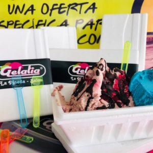 heladeria pineda helados sanos para llevar lactosa gluten